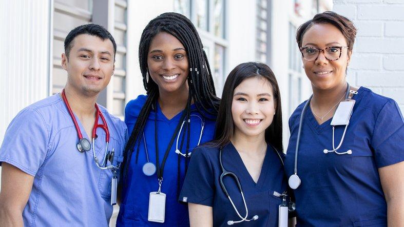 CBD Nurses day group of nurses